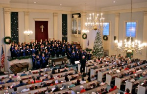 Messiah and Carol Sing @ First Congregational Church in Middleboro | Middleborough | Massachusetts | United States