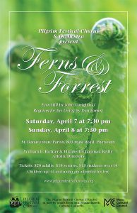"SPRING CONCERT - ""Ferns and Forrest"" - Saturday @ St. Bonaventure Parish 